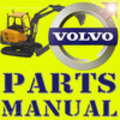 Thumbnail VOLVO EC13 XR MINI DIGGER EXCAVATOR PARTS CATALOG IPL MANUAL