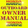 Thumbnail honda marine outboard bf115a bf130a owner manual