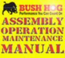 Thumbnail BUSH HOG M346 M446 M546 OPERATION MAINTENANCE OWNERS MANUAL