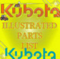 Thumbnail KUBOTA G1900 S PARTS MANUAL ILLUSTRATED LIST IPL