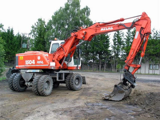 Pay for ATLAS 1504 M Excavator Parts part manual IPL not workshop