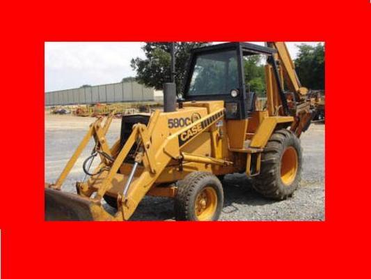 Case 580c Backhoe : Case tractor c loader backhoe service workshop