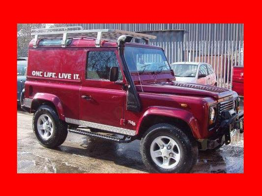 LAND ROVER DEFENDER 90 110 130 TD5 TDI V8 OWNER MANUAL