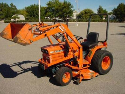 Kubota B6200 Front Axle : Kubota tractor b hst operators