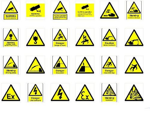 950 Health Safety Hazard Signs Print Vector Vinyl Plotter