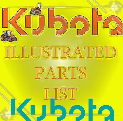 Pay for KUBOTA L4400 DT TRACTOR PARTS MANUAL ILLUSTRATED LIST IPL
