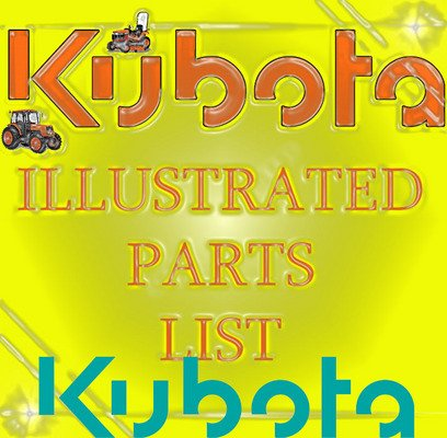 Pay for KUBOTA L4400 HST TRACTOR PARTS MANUAL ILLUSTRATED LIST IPL