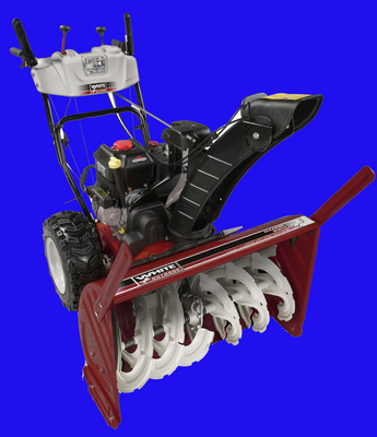 Pay for WHITE OUTDOOR SNOW THROWER
