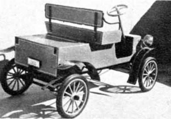 Vintage Plans Build Kids Car Bike Scooter Go Cart Trian
