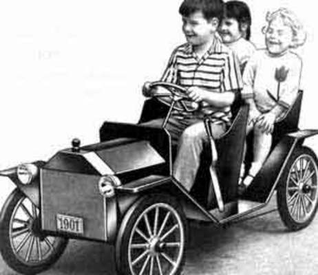 Pay for Build Kids Childs Electric Car How To Plans Guide VINTAGE