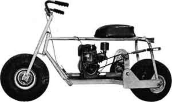 Pay for Mini Bike Scooter Project Plans How To Guide VINTAGE rare