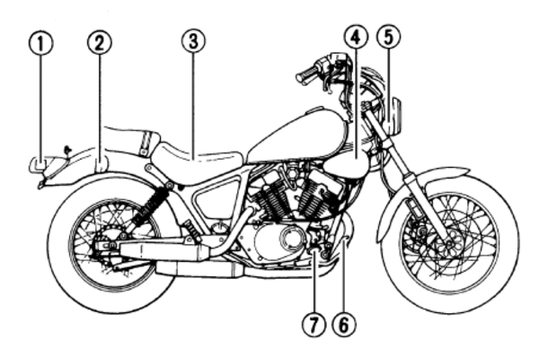 diagram also yamaha virago 750 wiring on arctic  diagram