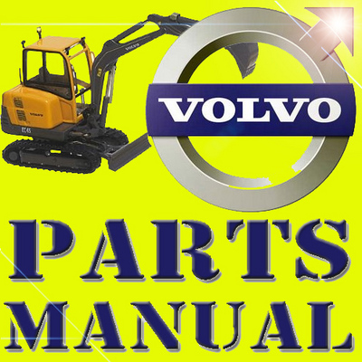 VOLVO ECR88 MINI DIGGER EXCAVATOR PARTS CATALOG IPL MANUAL - Downlo...