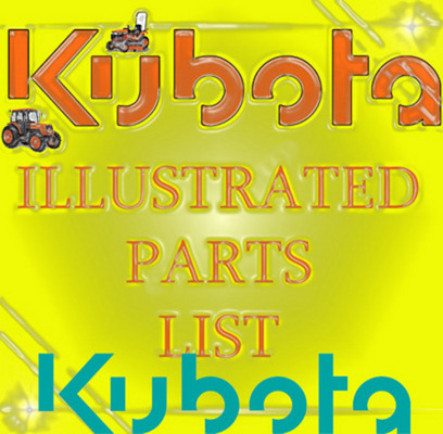 Pay for KUBOTA TRACTOR MX5000DT PARTS MANUAL ILLUSTRATED PARTS LIST