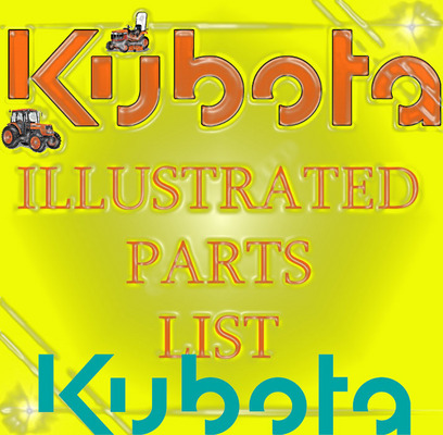 Pay for KUBOTA TRACTOR M5950-CAB PARTS MANUAL ILLUSTRATED PARTS LIST