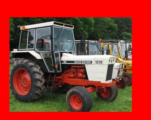 david brown 885 tractor manual