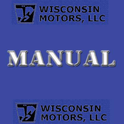 Wisconsin Engine parts manual VG4D IPL