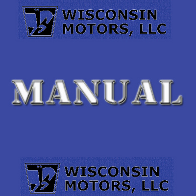 WISCONSIN CONTINENTAL L-HEAD OVERHAUL MANUAL