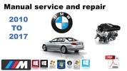 Thumbnail bmw 5 series f10 2010 2017 workshop manual and repair