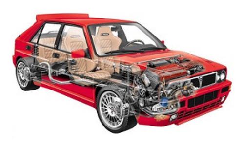 Lancia Delta Hf Turbo Hf Integrale Turbo 4wd