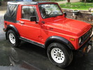 Thumbnail 1994 SUZUKI SAMURAI ALL MODELS SERVICE AND REPAIR MANUAL