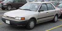 Thumbnail 1990 MAZDA PROTEGE BG SERIES ALL MODELS SERVICE AND REPAIR M