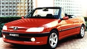 1997 PEUGEOT 306 CABRIOLET SERVICE AND REPAIR MANUAL
