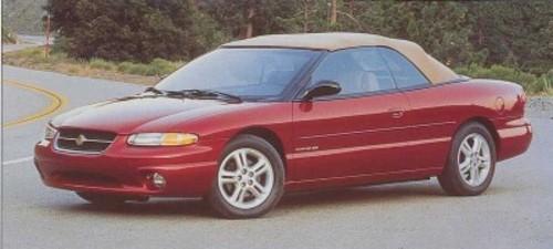 1996 sebring coupe or convertible all models service and 1996 Chrysler Sebring JX 1995 Sebring Interior