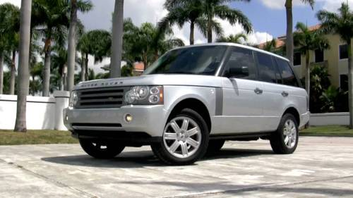 2008 range rover supercharged owners manual