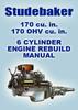 Thumbnail STUDEBAKER 170 cu in 6 Cylinder Engine Rebuild Manual