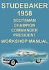 Thumbnail Studebaker 1958 Shop Manual