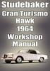Thumbnail STUDEBAKER Gran Turismo Hawk 1964 Shop Manual