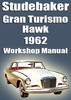 Thumbnail STUDEBAKER Gran Turismo Hawk 1962 Shop Manual