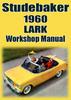 Thumbnail STUDEBAKER Lark Deluxe, Regal 6 cyl & V8 1960 Shop Manual