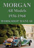 Thumbnail MORGAN Four/4 & Plus/4 1936-1968 Workshop Manual