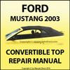 Thumbnail Ford Mustang 2003 Convertible top manual.pdf