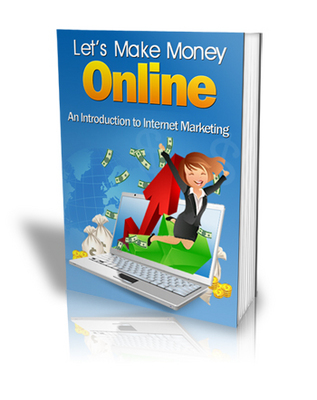 Pay for Lets Make Money Online Now. Ebook comes with mrr