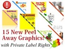 15 New Peel Away Website Graphics (PLR)