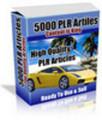 Thumbnail 5000 PLR Articles + PLR Bonuses