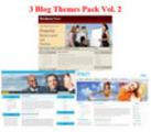 Thumbnail Buy 3 Blogs Themes Pack Vol. 2 (PLR)