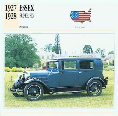 1926 Hudson Essex Service Repair Manual Download
