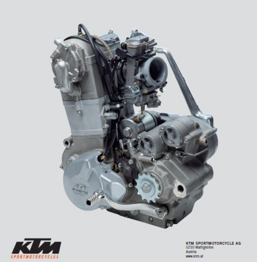Pay for 2000-2003 KTM engine 250-525 Workshop Repair manual download