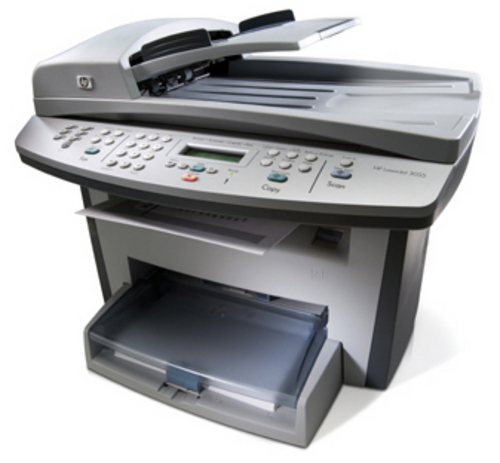 Hp laserjet 3050 Fax Machine Manual