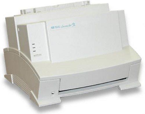 Hp laserjet 5l printer user's manual (all models) (1995, paperback.