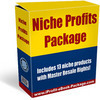 Thumbnail niche profits package with resale rights