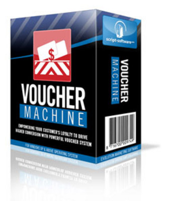 Pay for voucher machine with resale rights