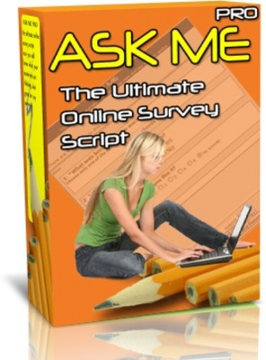 Pay for ask me pro online survey script-mrr included