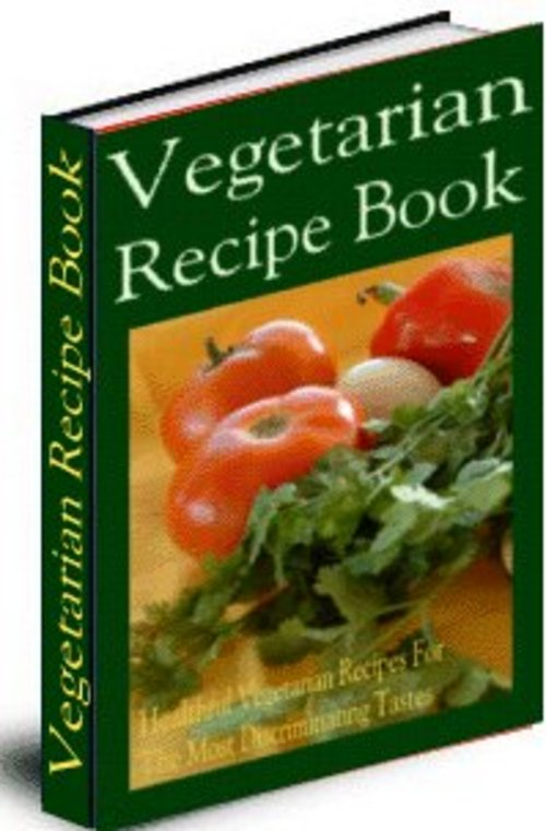 Pay for Vegetarian Recipes Ebook With Mrr
