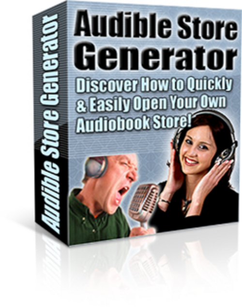 Pay for Audible Store Generator With PLR