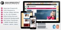 Thumbnail Shoploop: Responsive HTML5 OpenCart Theme
